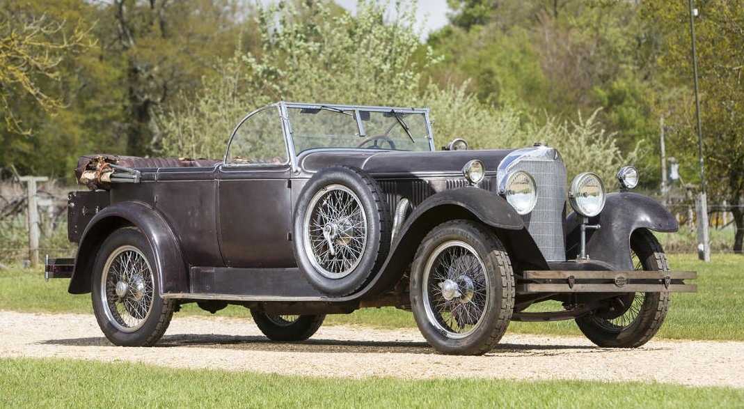 1928 Mercedes-Benz 630K Tourer by Erdmann & Rossi