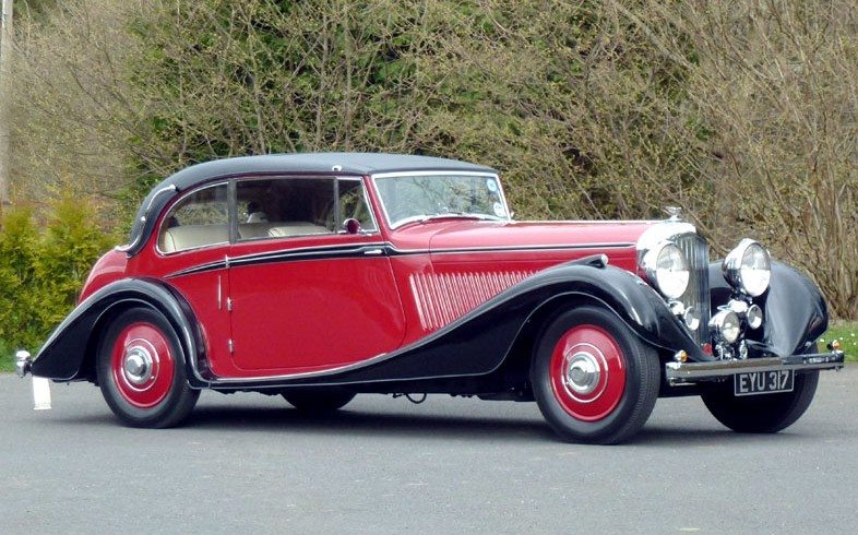 1937 Bentley 4.25-Litre Vanden Plas Coupe