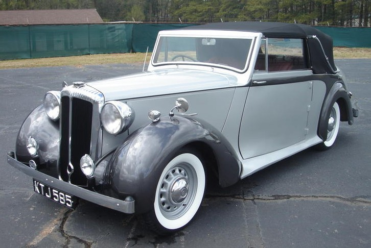 1949 Daimler DB18 Drophead Coupe by Barker