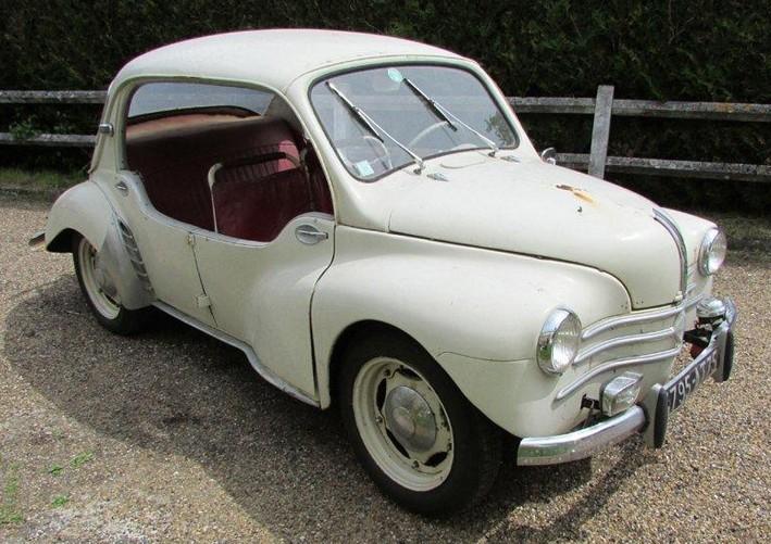 1951 Renault 4CV Pie Prototype