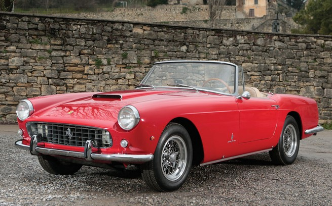 1961 250 GT Series II Cabriolet by Pininfarina