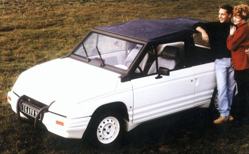 1986 Citroen Triaxe Prototype