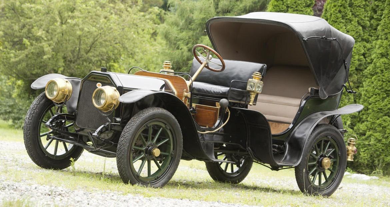 1910 Peerless Model 29 Park PhaetonVictoria by Brewster
