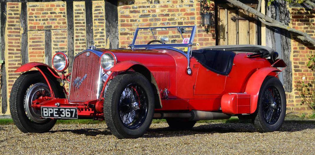 1934 Alfa Romeo 8C 2300 Le Mans Tourer