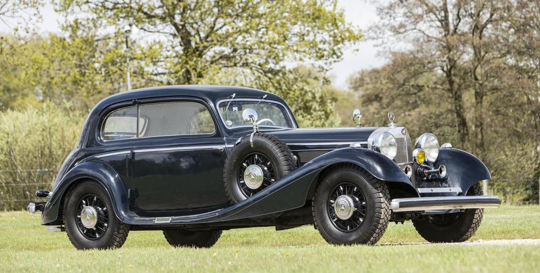 1937 Mercedes-Benz 540K Sports Saloon