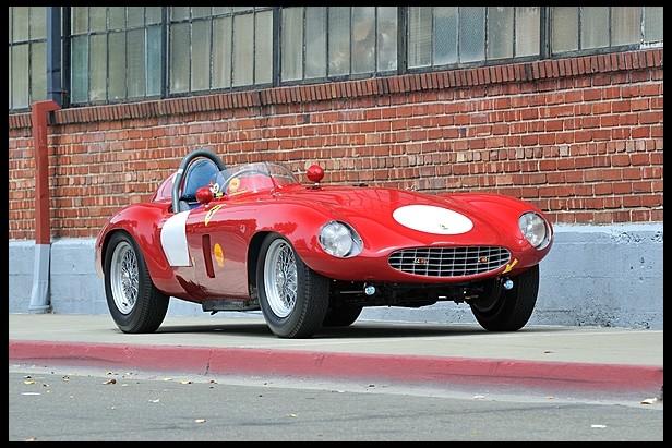 1954 Ferrari 750 Monza Spider by Scaglietti