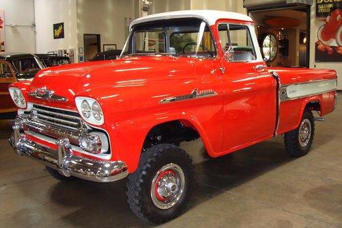 1958 Chevrolet Cameo NAPCO 4x4