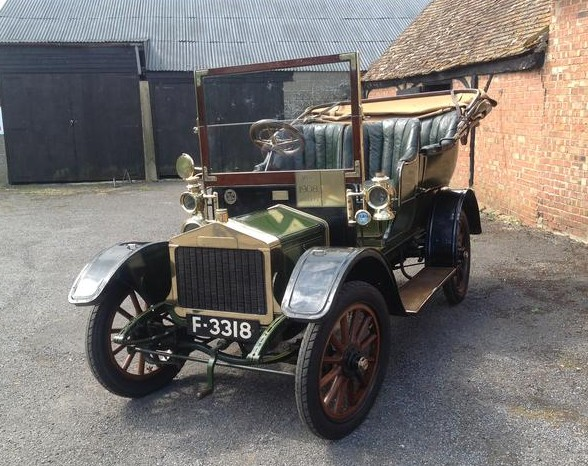 1908 Alldays & Onions 1012 HP Four-Seater Swing-Seat Tonneau