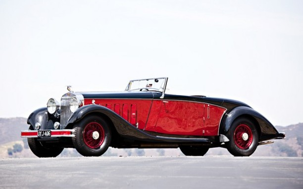 1933 Hispano-Suiza J12 Cabriolet by Fernandez et Darrin