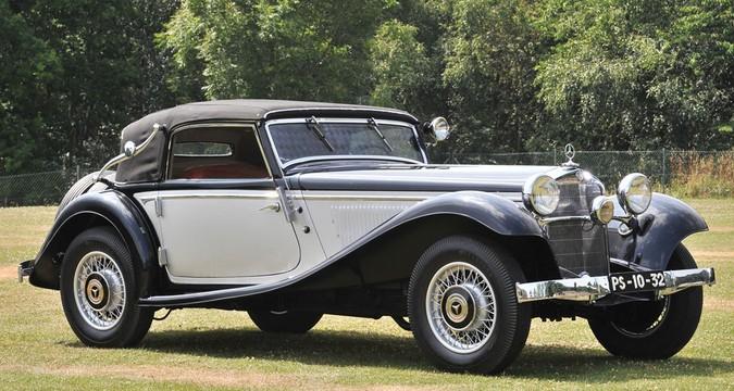 1934 Mercedes-Benz 290 Cabriolet A