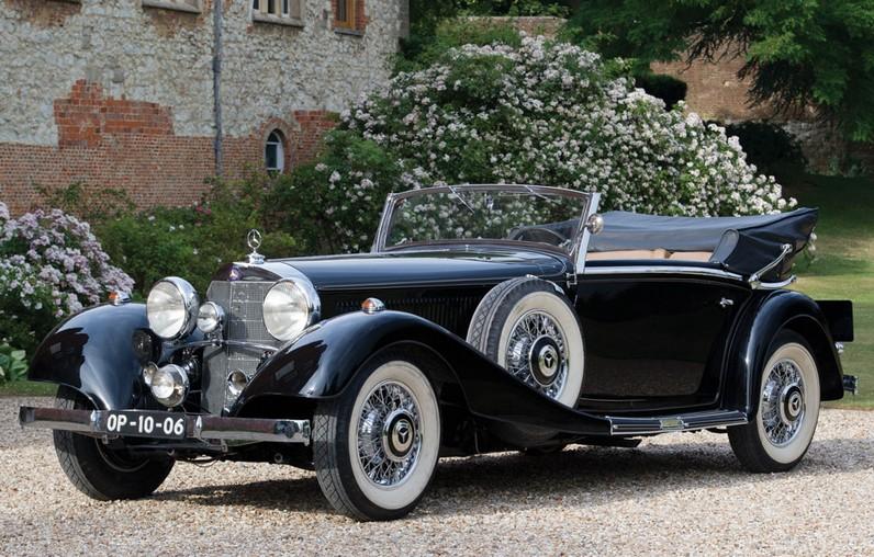 1936 Mercedes-Benz 500K Cabriolet C by Sindelfingen