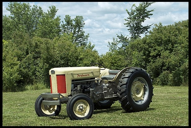 1956 Massey Ferguson 40 Tractor : Cool tractors classiccarweekly