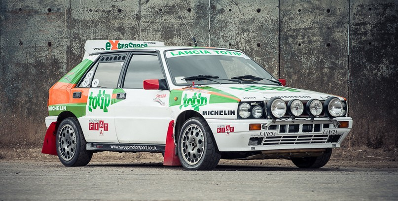 1989 Lancia Delta Integrale Group N Rally Ca