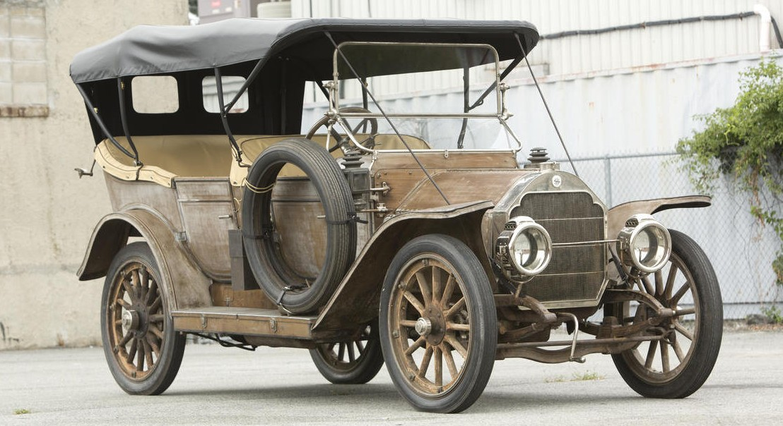1911 Stoddard-Dayton Model 11A Five-Passenger Touring