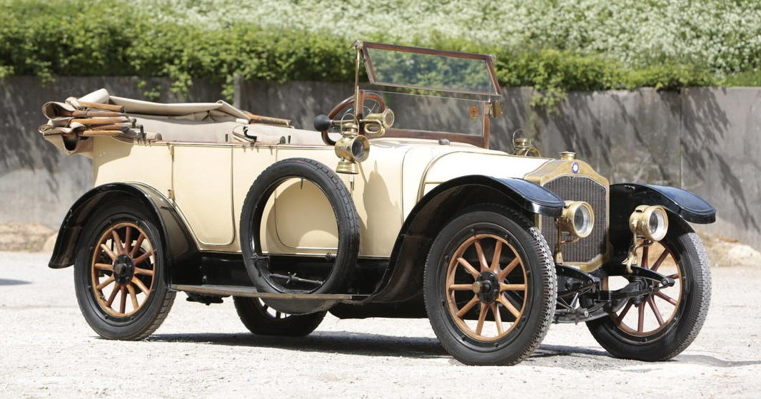 1913 De Dion-Bouton Type DX Touring