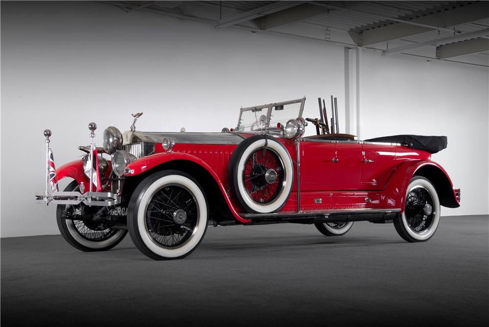 1925 Rolls-Royce Phantom I by Barker