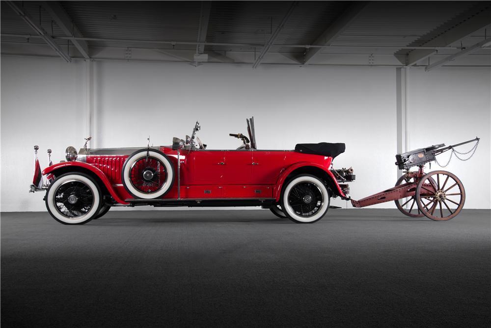 1925 Rolls with Gun