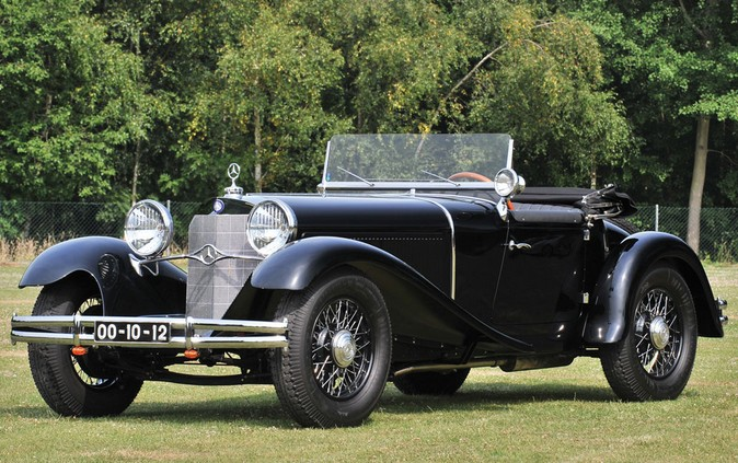 1932 Mercedes-Benz 1575HP Mannheim 370 S Sport Roadster