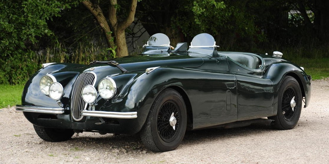 1951 Jaguar XK120 3.8-Litre Competition Roadster