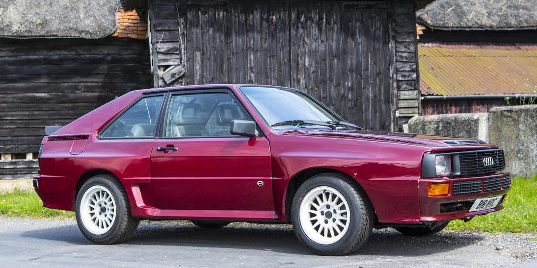1985 Audi Quattro Sport SWB Coupe