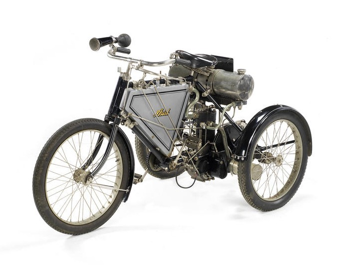 1901 Ariel 375cc Quad-Tri-Cycle