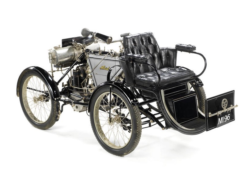 1901 Ariel 375cc Quadricycle