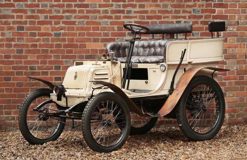 1901 Georges Richard 3.5hp Single-Cylinder Four-Seat Rear-Entrance Tonneau by Vedrine