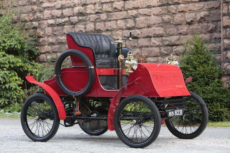 1902 Warwick 6hp Four-Seat Stanhope