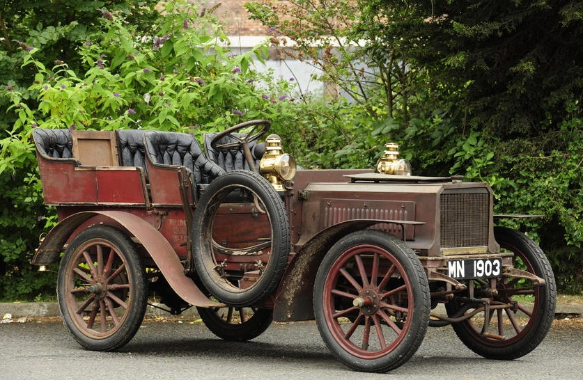 1903 Lacoste et Battmann 12hp Twin-Cylinder Four-Seat Rear-Entrance Tonneau