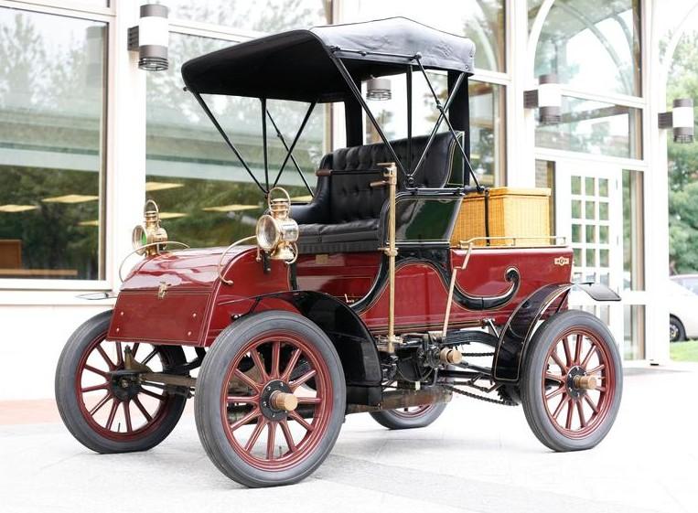 1904 Knox 1618hp Touraine 4-Passenger Stanhope