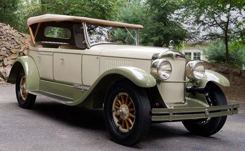 1926 Cadillac Model 314 Four-Passenger Phaeton