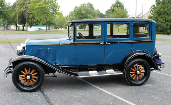 1928 Plymouth Model Q Four-Door Sedan