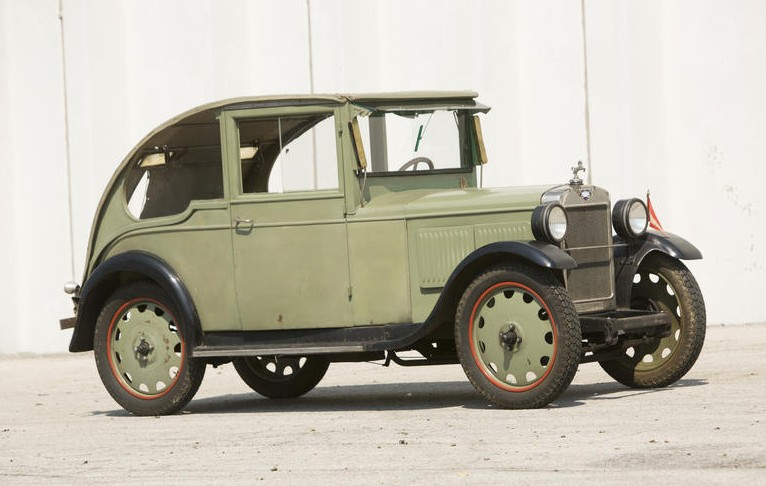 1931 Hanomag 316 Coupe