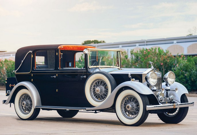 1933 Rolls-Royce 2025 Enclosed Limousine Sedanca by Thrupp & Maberly