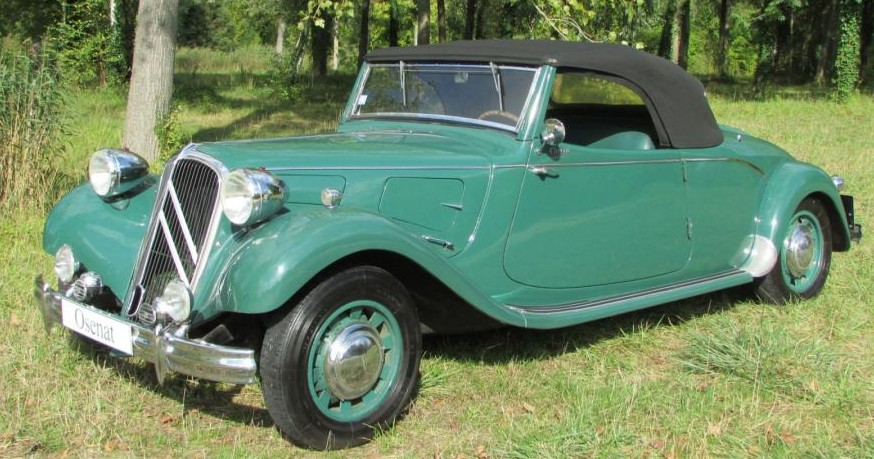 1937 Citroen Traction 11B Cabriolet