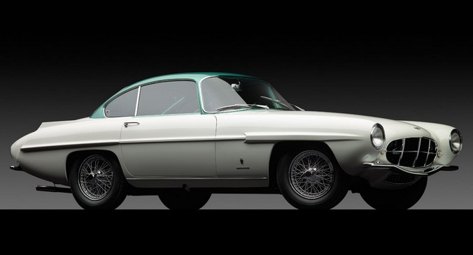1956 Aston Martin DB24 Mk II Supersonic by Ghia