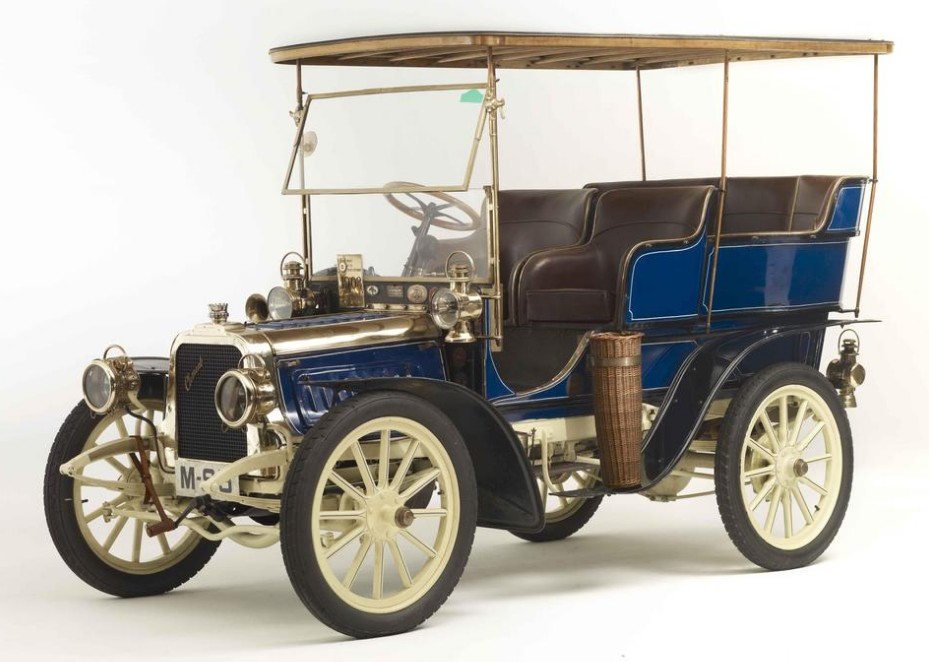 1903 Clement 12-16HP Rear-Entrance Tonneau