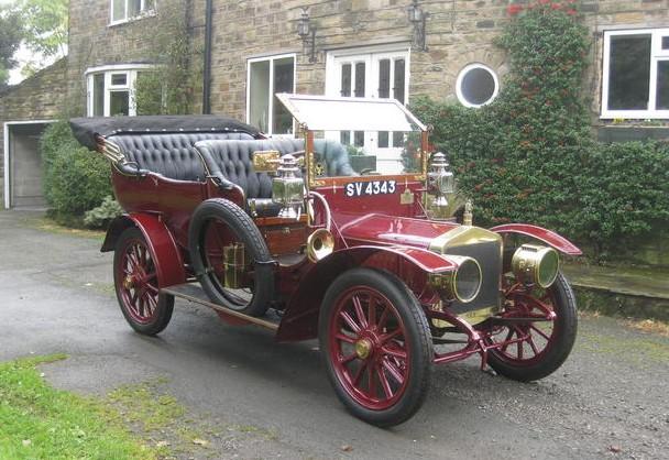 1908 Vulcan 20HP Roi-des-Belges