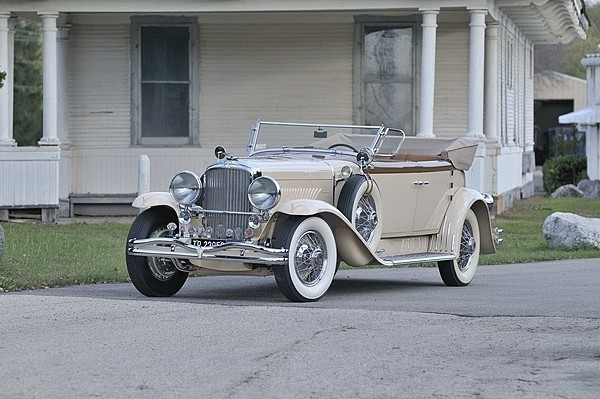 1930 Duesenberg Model J Torpedo Berline Convertible by Murphy