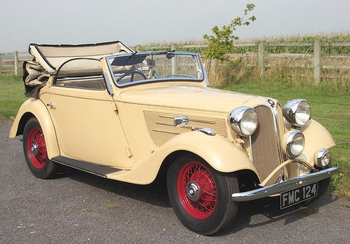 1937 Frazer Nash-BMW Type 3192 Cabriolet
