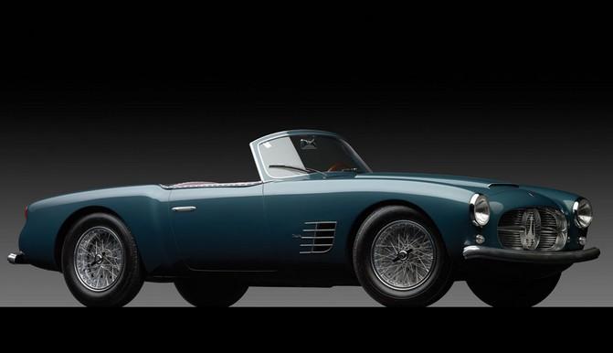1955 Maserati A6G2000 Spyder by Zagato