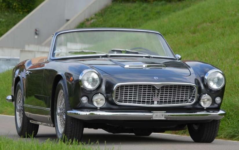 1962 Maserati 3500 GTI Cabriolet by Vignale