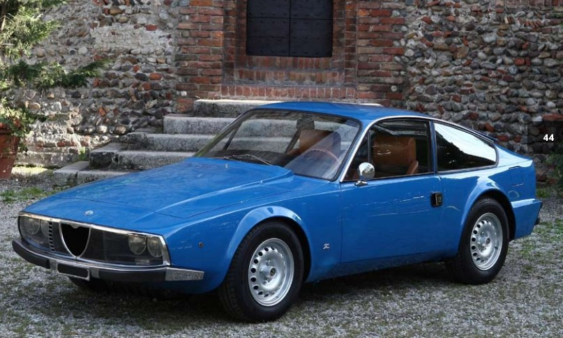 1972 Alfa Romeo Junior 1600 Zagato Coupe
