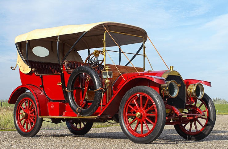 1910 Thomas Flyer Model 6-40 Touring