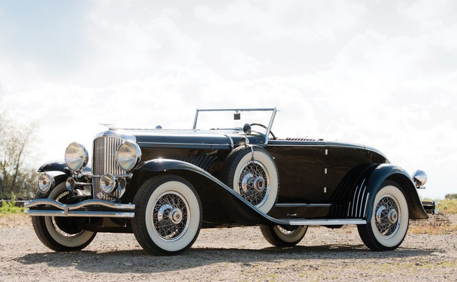 1930 Duesenberg Model J-357 Disappearing Top Convertible by Murphy