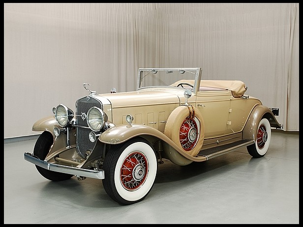 1931 Cadillac V12 Series 370 Convertible Coupe by Fleetwood