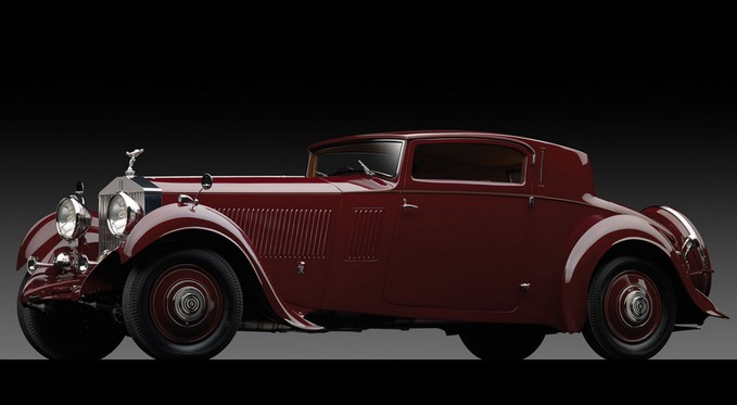 1933 Rolls-Royce Phantom II Continental Sports Coupe by Freestone & Webb