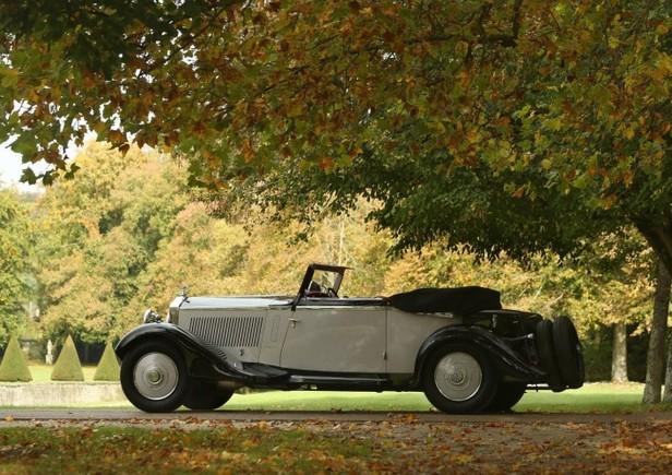 1934 Rolls-Royce 20 25 Cabriolet by Fernandez & Darrin