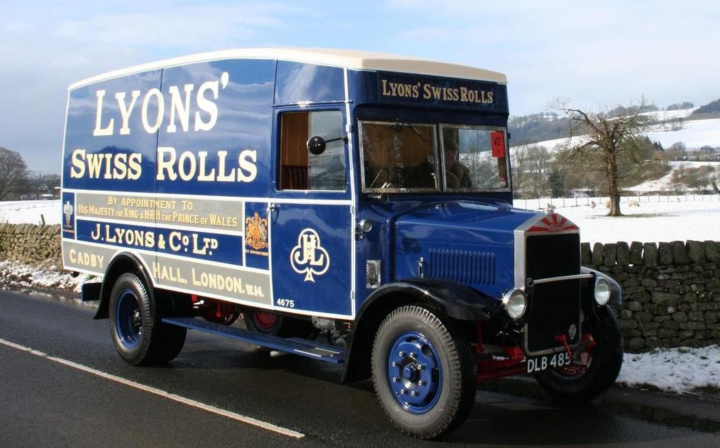 1935 Albion SPL 126 Van