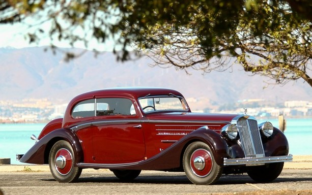 1937 Hispano-Suiza K6 Coupe by Chapron